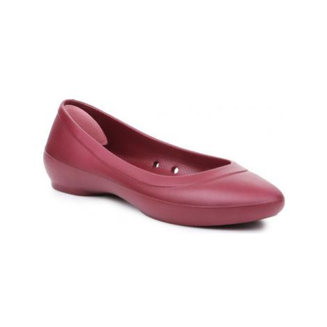 Crocs Lina Flat 203404-612 Červená