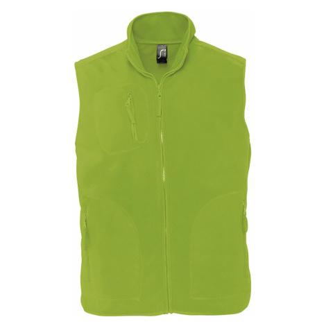SOĽS Uni fleecová vesta NORWAY 51000281 Lime SOL'S