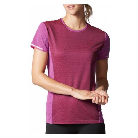 Dámské tričko adidas Supernova Climachill Fialová / Růžová