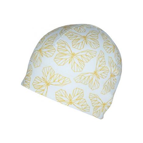 Sportovní čepice s otvorem pro culík Bjež BUTTERFLY bílá BJEŽ