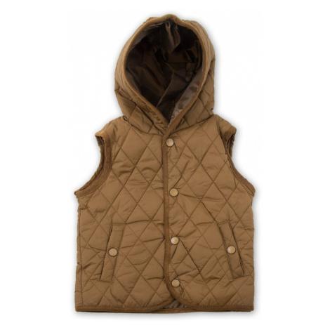 Sobe vesta s kapucí, Sobe, 15KECYLK528, hnědá