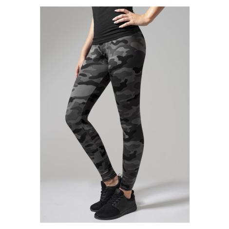Legíny Urban Classics Ladies Camo Leggings - dark camo