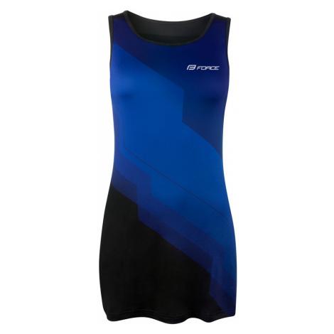 Dámské sportovní šaty Force Abby modro-černé