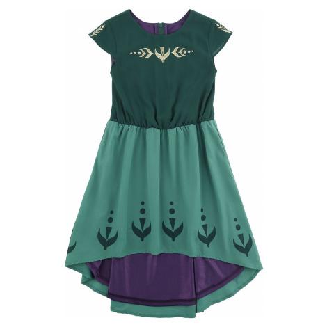Frozen Anna - Prom detské šaty zelená