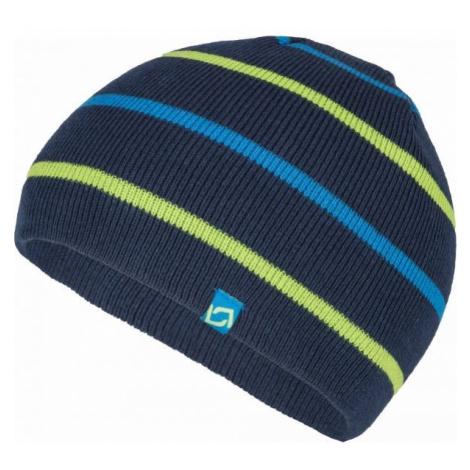 Lewro BENY tmavě modrá - Chlapecká pletená čepice