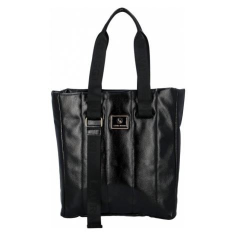 Dámská kabelka Laura Biaggi Canvas, černá