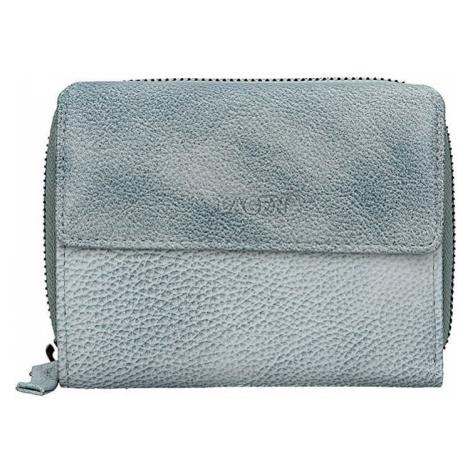 Lagen Dámská kožená peněženka LG-932 Ocean Blue