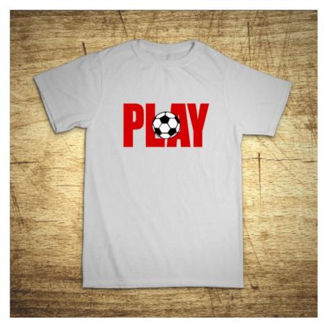 Detské tričko s motívom Play BezvaTriko