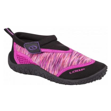 Loap SMART růžová - Dětské boty do vody
