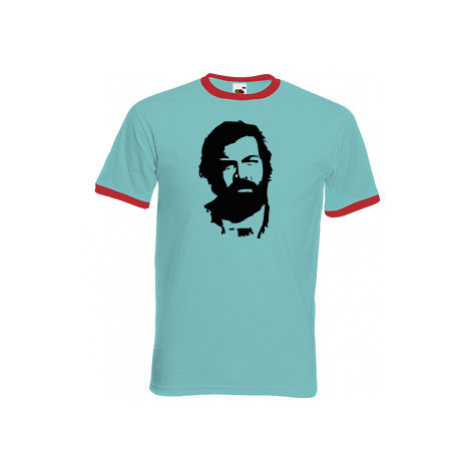 Pánské tričko s kontrastními lemy Bud Spencer