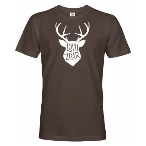 Tričko pro myslivce Lovu zdar - dárek pro myslivce BezvaTriko