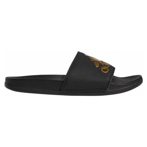 Pantofle adidas Adilette Cloudfoam Plus Černá / Zlatá