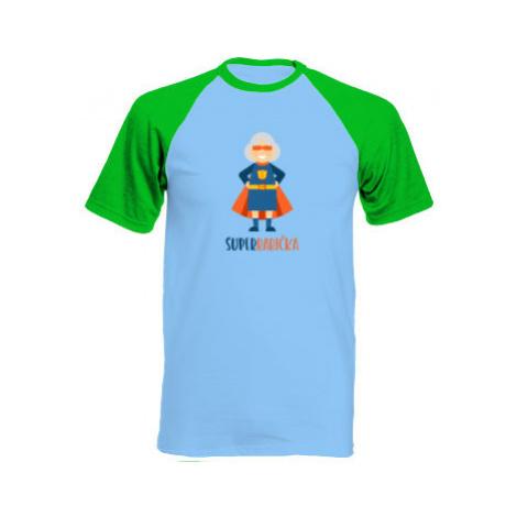 Pánské tričko Baseball Superbabička