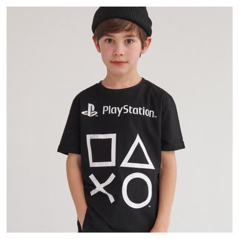 Reserved - Bavlněné tričko PlayStation - Černý
