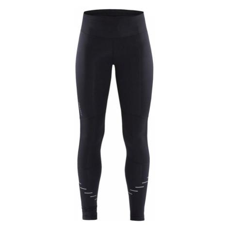 Dámské kalhoty CRAFT Lumen Urban Tights černá s potiskem