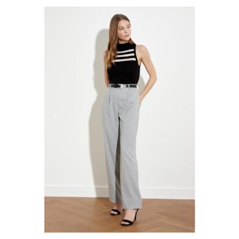 Trendyol Gray Belt Pants