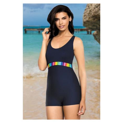 Self Jednodílné plavky Beata s krátkou nohavičkou