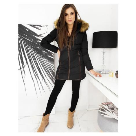 BAROSA women's winter quilted jacket black TY1621 DStreet