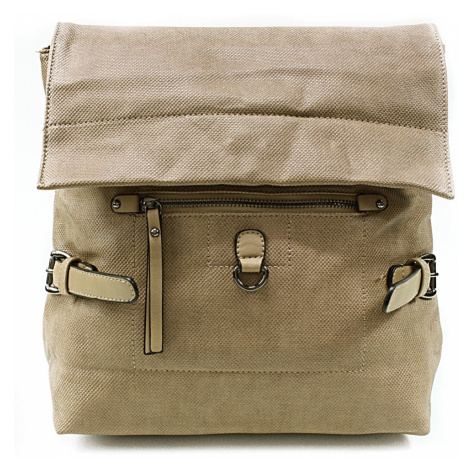 Khaki stylový dámský batoh Laney Sara Bag
