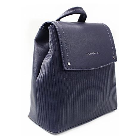 Tmavě modrý elegantní dámský batoh Kalcey David Jones