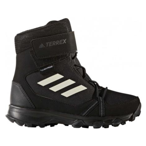 adidas TERREX SNOW CF CP CW K černá - Dětská outdoorová obuv