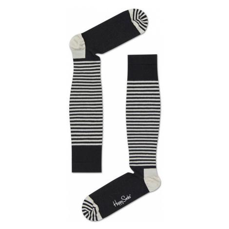 Happy Socks Stripes Compressed černé HAS11-9000