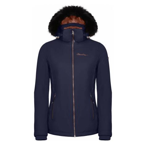 Dámská zimní bunda Alpine Pro MEMKA 4 - tmavě modrá