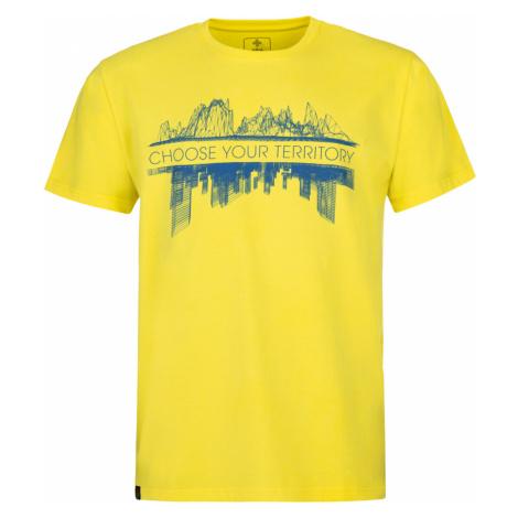 KILPI Pánské triko TERRITORY-M MM0087KIYEL Žlutá
