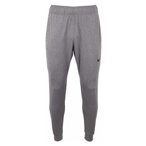 NIKE Sportovní kalhoty 'Dry Hyper Dry' šedý melír