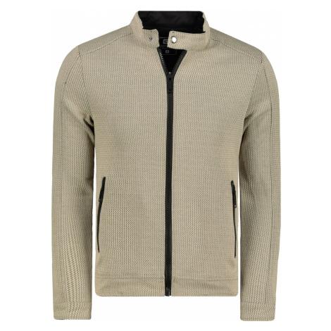 Ombre Clothing Men's zip-up sweatshirt C453