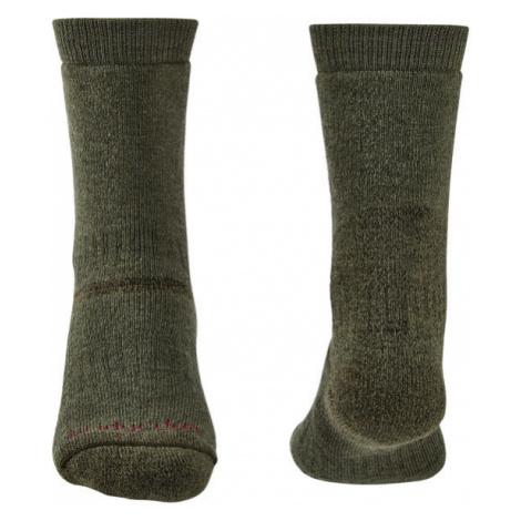 Ponožky Bridgedale Explorer Heavyweight Merino Performance Boot olive/531 XL (12+)
