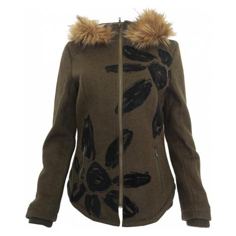Khaki kabátek Desigual