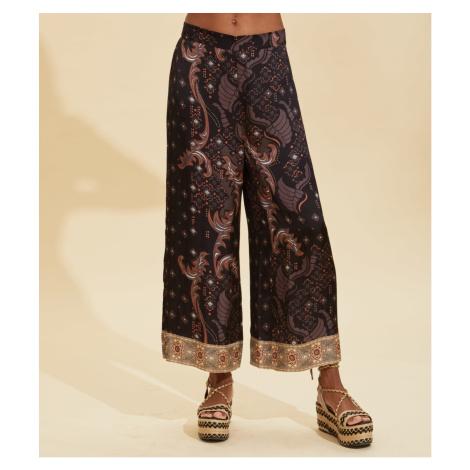 Kalhoty Odd Molly Claudia Pants - Hnědá