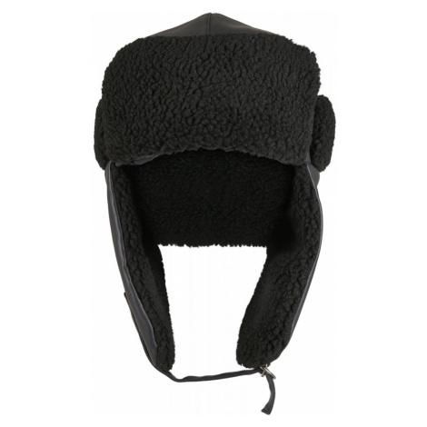 Imitation Leather Trapper Hat Urban Classics