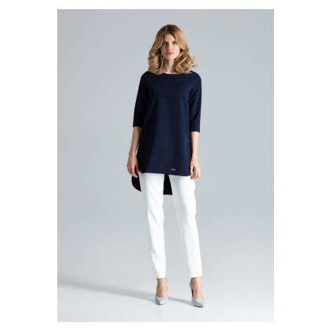 Figl Woman's Tunic M423 Navy Blue