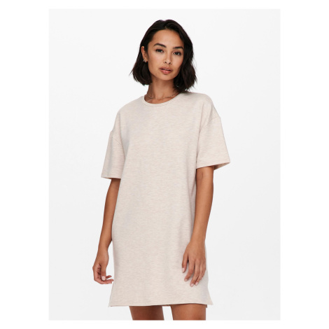 Jacqueline de Yong béžové šaty Gloria