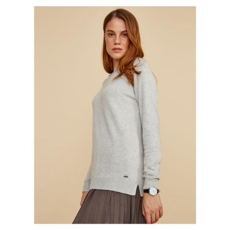ZOOT Baseline šedé basic dámský svetr Ema