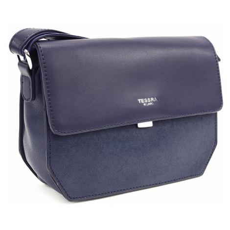 Tmavě modrá dámská klopnová kabelka Nanette Mahel
