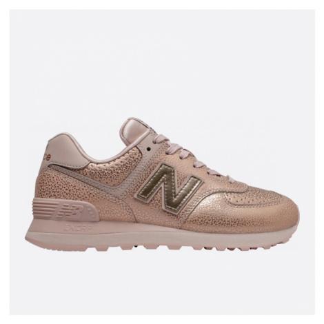 Dámské růžové tenisky New Balance WL574SOJ