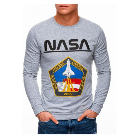 Inny Šedá mikina bez kapuce NASA B1272