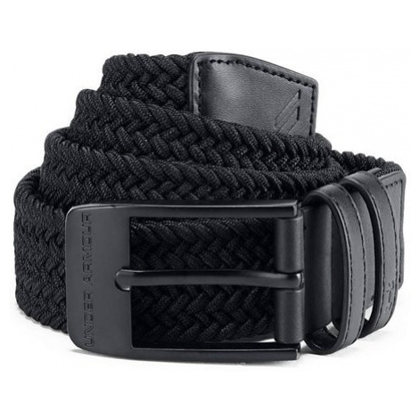 Under Armour Men's Braided Belt Černá