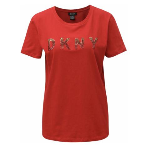Červené tričko - DKNY