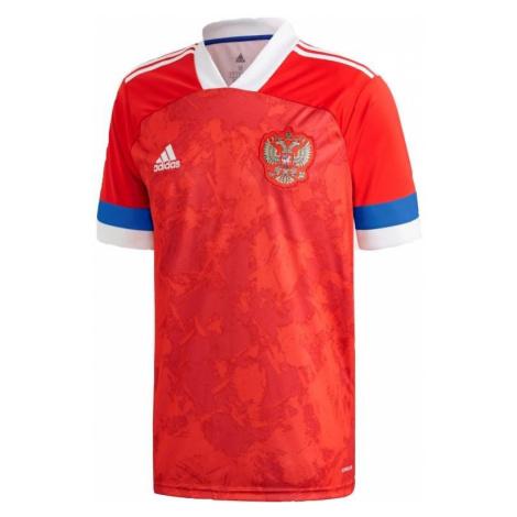 Dres adidas Russia Home Jersey Červená / Bílá