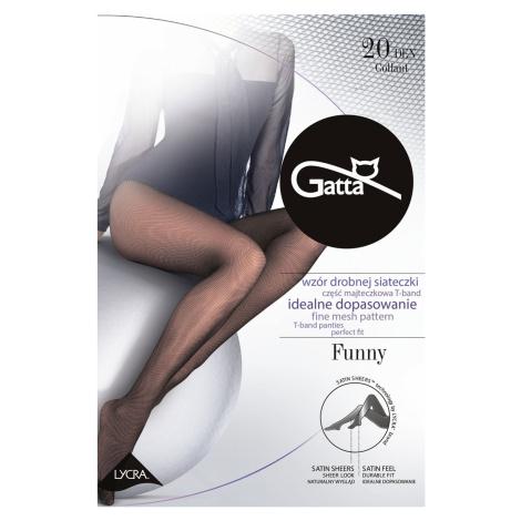 Dámské síťované punčochové kalhoty Gatta Funny 20 4-l