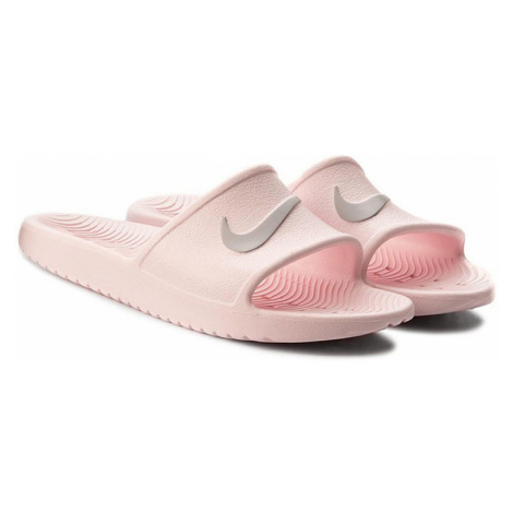 Růžové dámské pantofle Nike