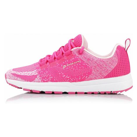 Sportovní obuv Alpine Pro LAUREN - tmavě růžová