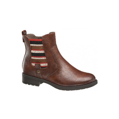 Hnědá Chelsea obuv 5th Avenue