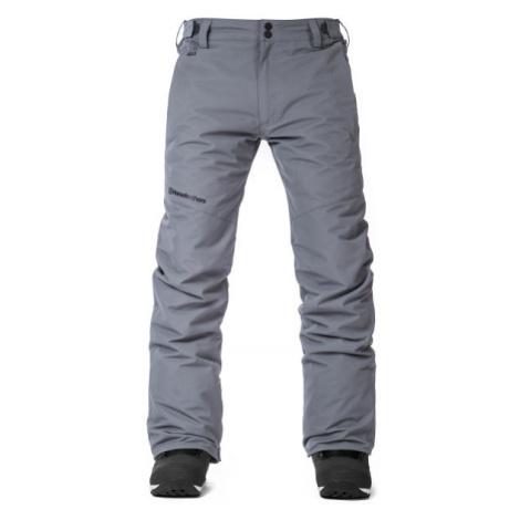 Horsefeathers GAREN tmavě zelená - Pánské kalhoty