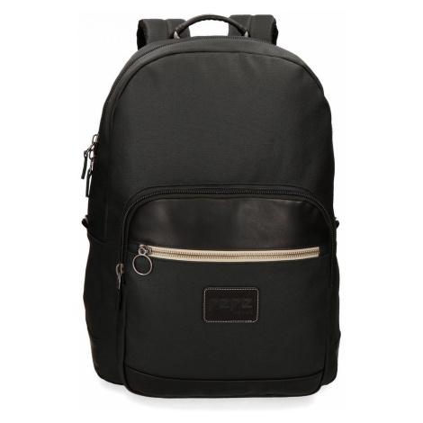Pepe Jeans pánský černý batoh