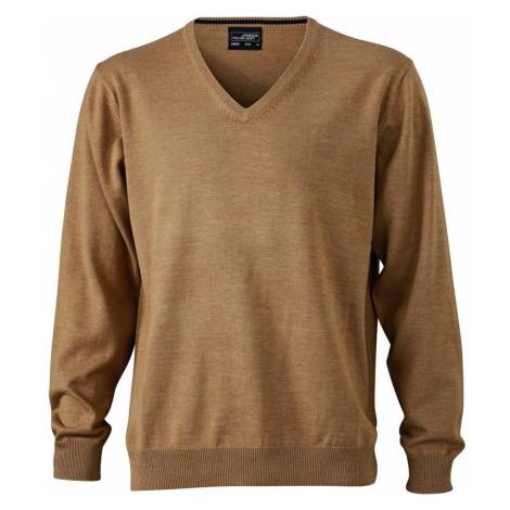 Pánský bavlněný svetr JN659 James & Nicholson
